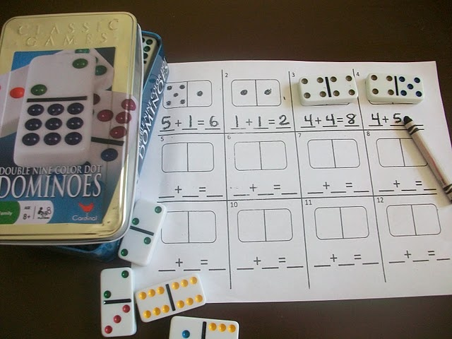 Try using Dominoes to help with math