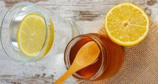 فوائد الماء الدافئ والليمون والعسل على الريق