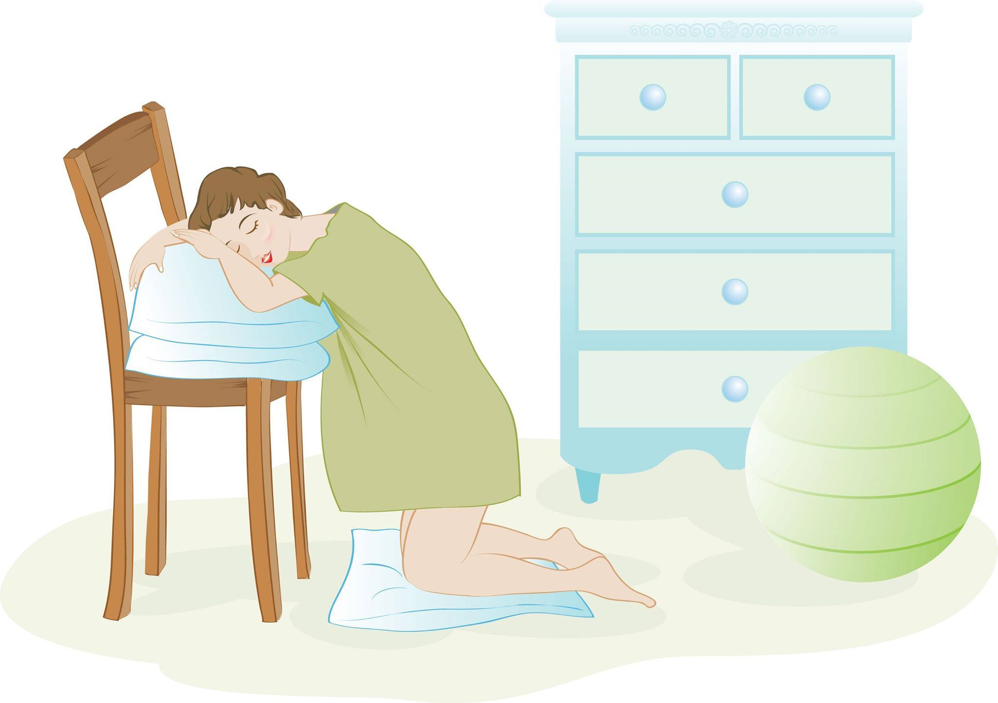 اعراض الحمل في الايام الاولى من التلقيح