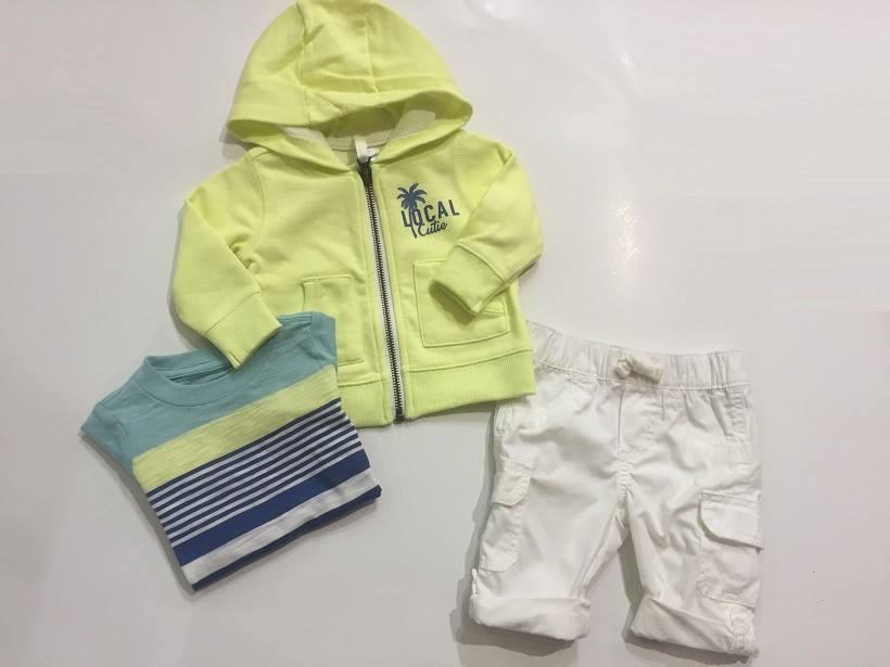 5f95f7d3f ملابس البيبي حديث الولادة بالصور للاولاد صيفي مودرن - مجلة أبدعي