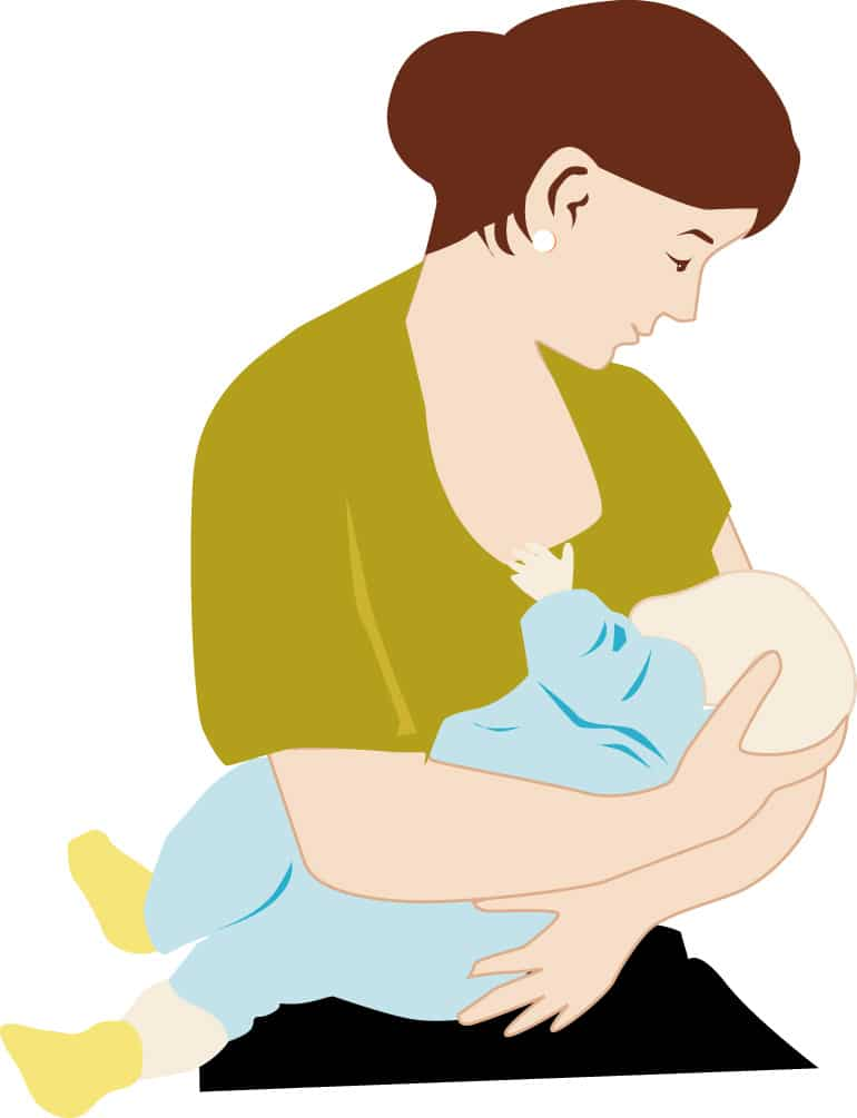 الجمع بين الرضاعة الطبيعية والصناعية