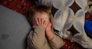 النوم عند الاطفال في عمر السنتين
