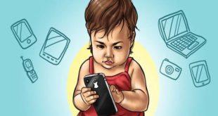 اضرار الهاتف المحمول على الاطفال 2