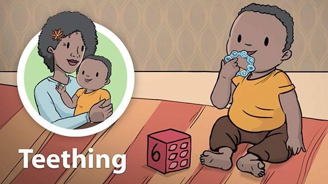 اعراض التسنين عند الاطفال عمر سنة