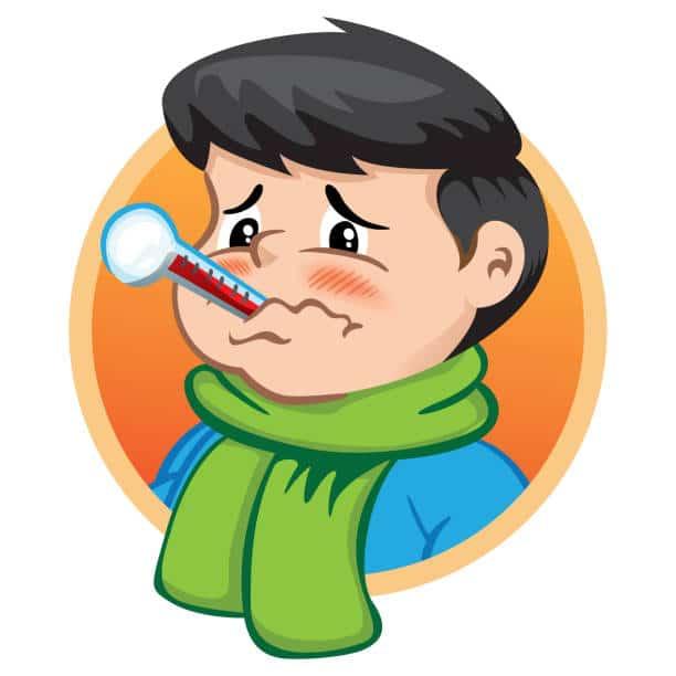 ارتفاع الحرارة عند الاطفال مع برودة الاطراف
