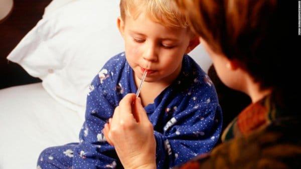 التهاب اللوز عند الاطفال وارتفاع الحراره 2