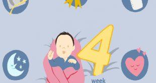 تطورات الطفل في الشهر الرابع