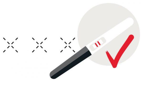 اختبار حمل منزلي مضمون الخل الكلور الملح الطريقة بالفيديو مجلة أبدعي