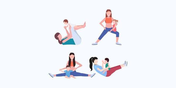 متى يمكن ممارسة الرياضة بعد الولادة القيصرية